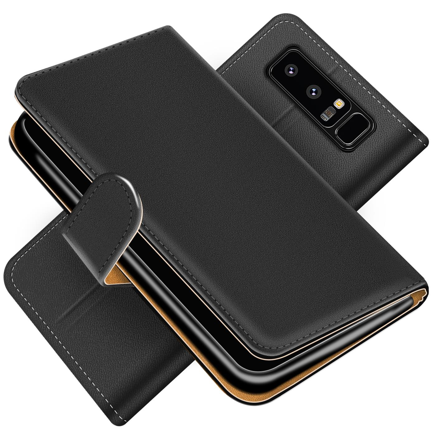handy h lle f r samsung galaxy note 8 case schutz tasche cover basic flip etui ebay. Black Bedroom Furniture Sets. Home Design Ideas