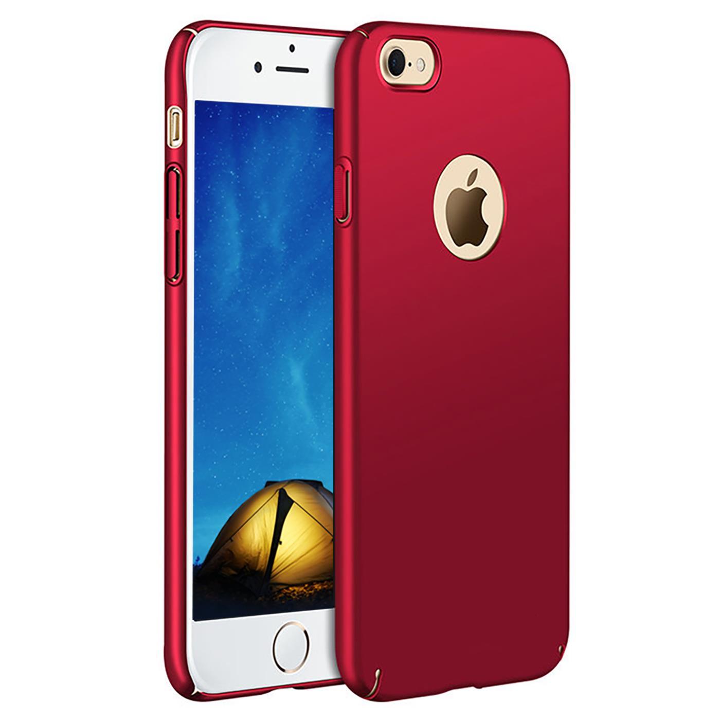 Handy Hülle Apple Apple iPhone 6 6S Case Handytasche Hardcase Bumper Cover Slim