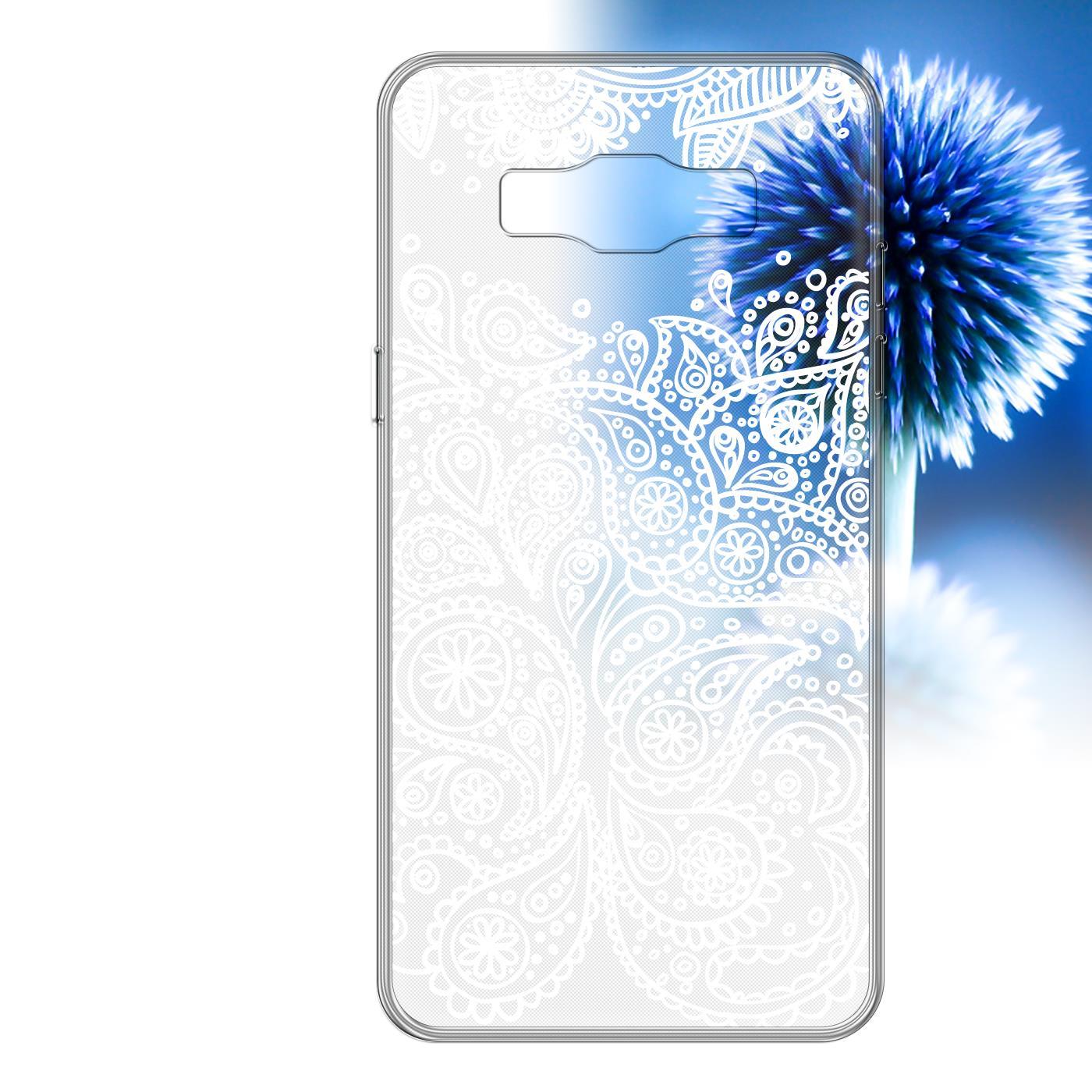 Samsung Galaxy J5 2015 Handy Schutz Hülle Case TPU Silikon Cover Tasche Mandala