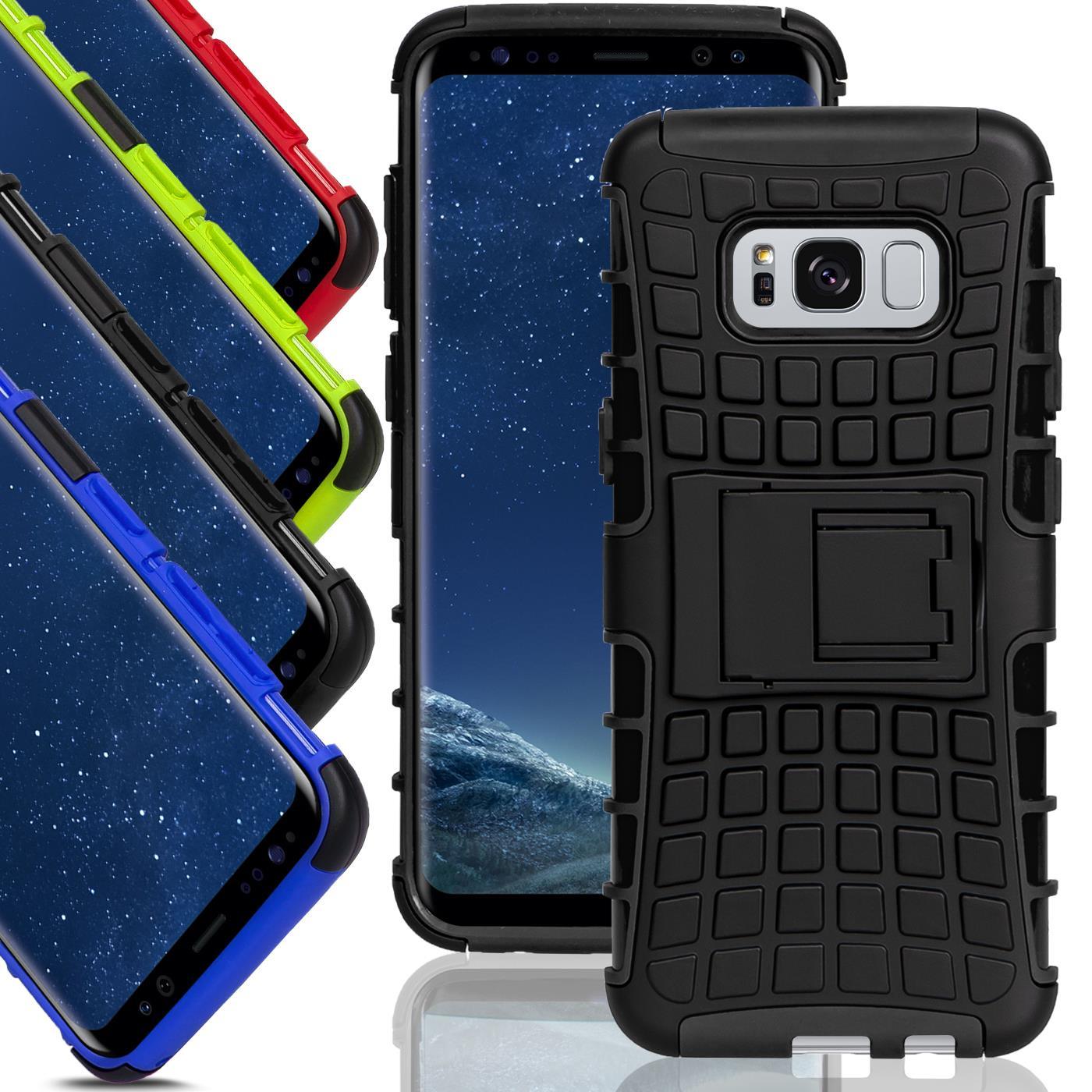 Samsung Galaxy S8 Hülle Hybrid Panzer Schutzhülle Handy Tasche