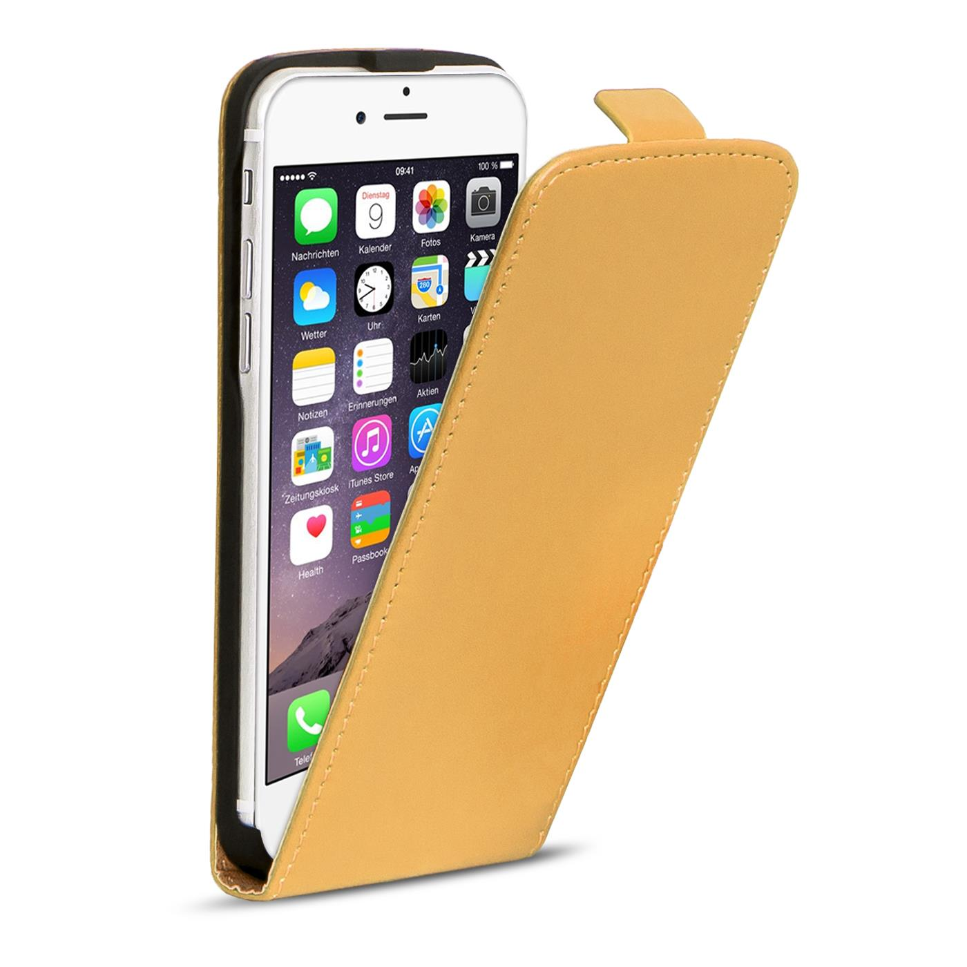 slim flip cover case apple iphone 6s plus schutzh lle. Black Bedroom Furniture Sets. Home Design Ideas