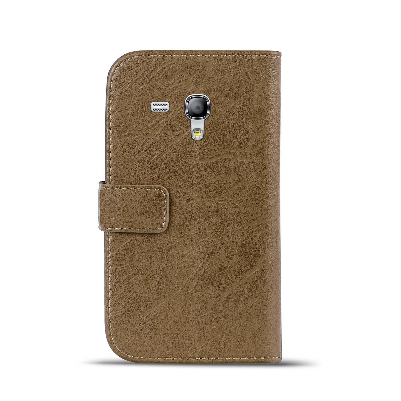 Klapphuelle-Samsung-Galaxy-S3-Mini-Huelle-Schutzhuelle-Wallet-Cover-Flip-Case Indexbild 19