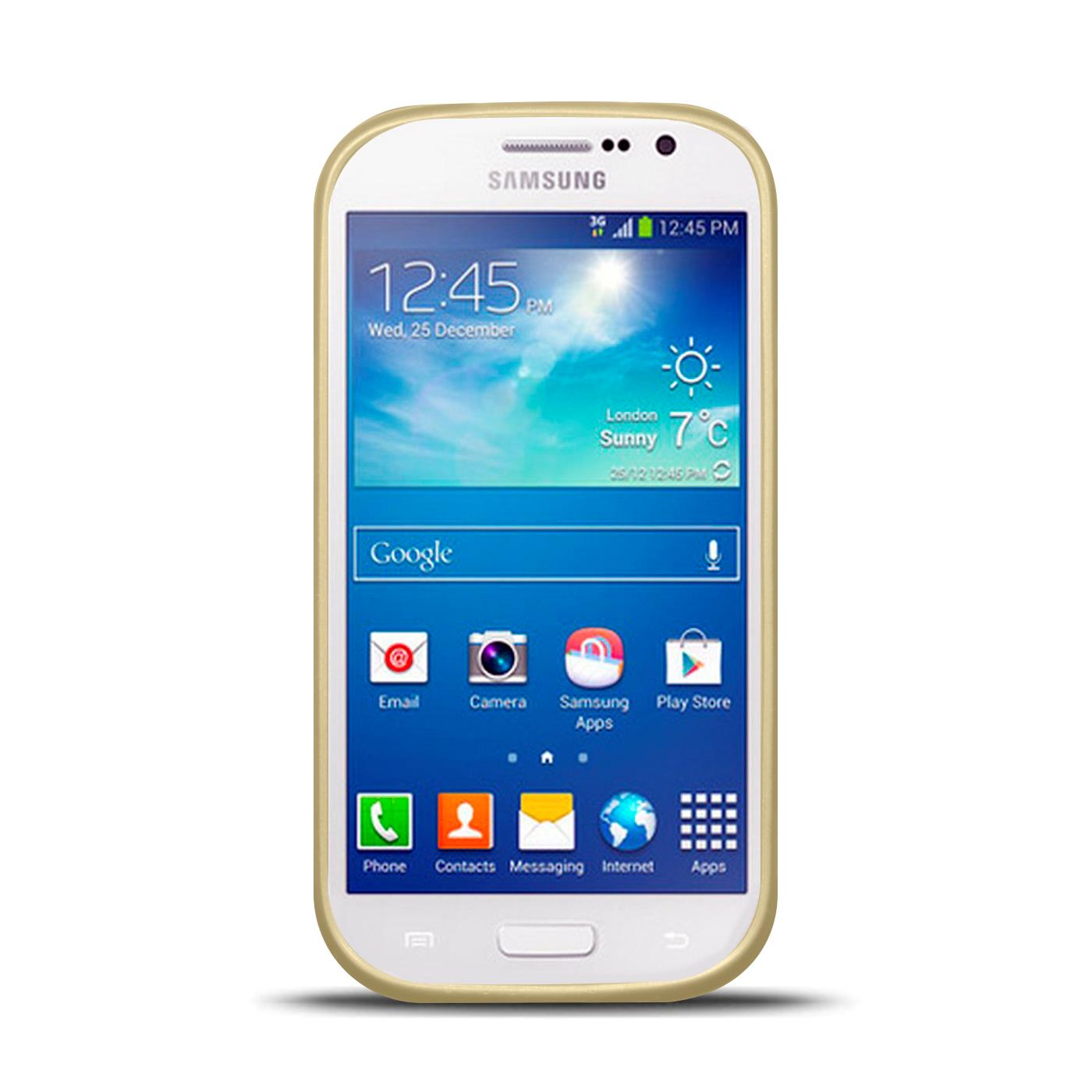 Silikon-Handy-Huelle-Samsung-Galaxy-S3-Neo-Case-Schutz-Cover-Brushed-Tasche-Etui