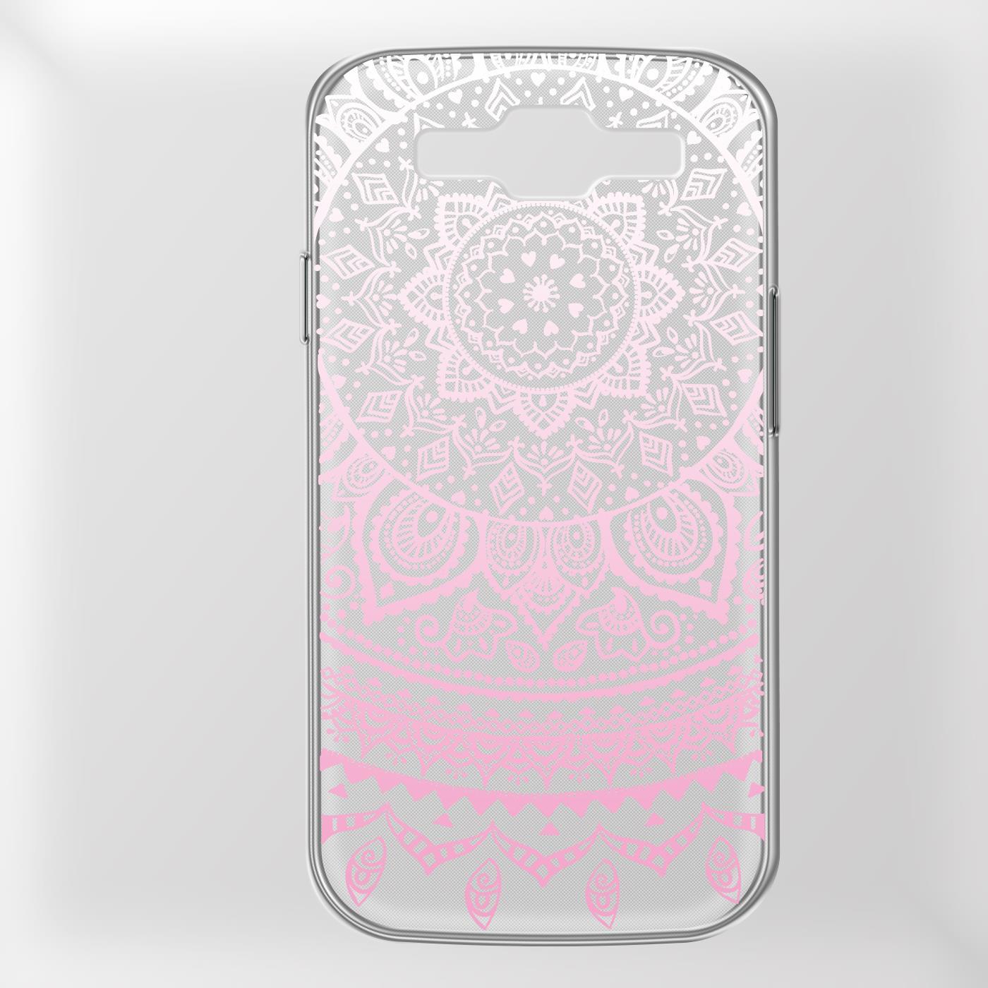 Samsung-Galaxy-S3-Neo-Handy-Schutz-Huelle-Case-TPU-Silikon-Cover-Tasche-Mandala Indexbild 19