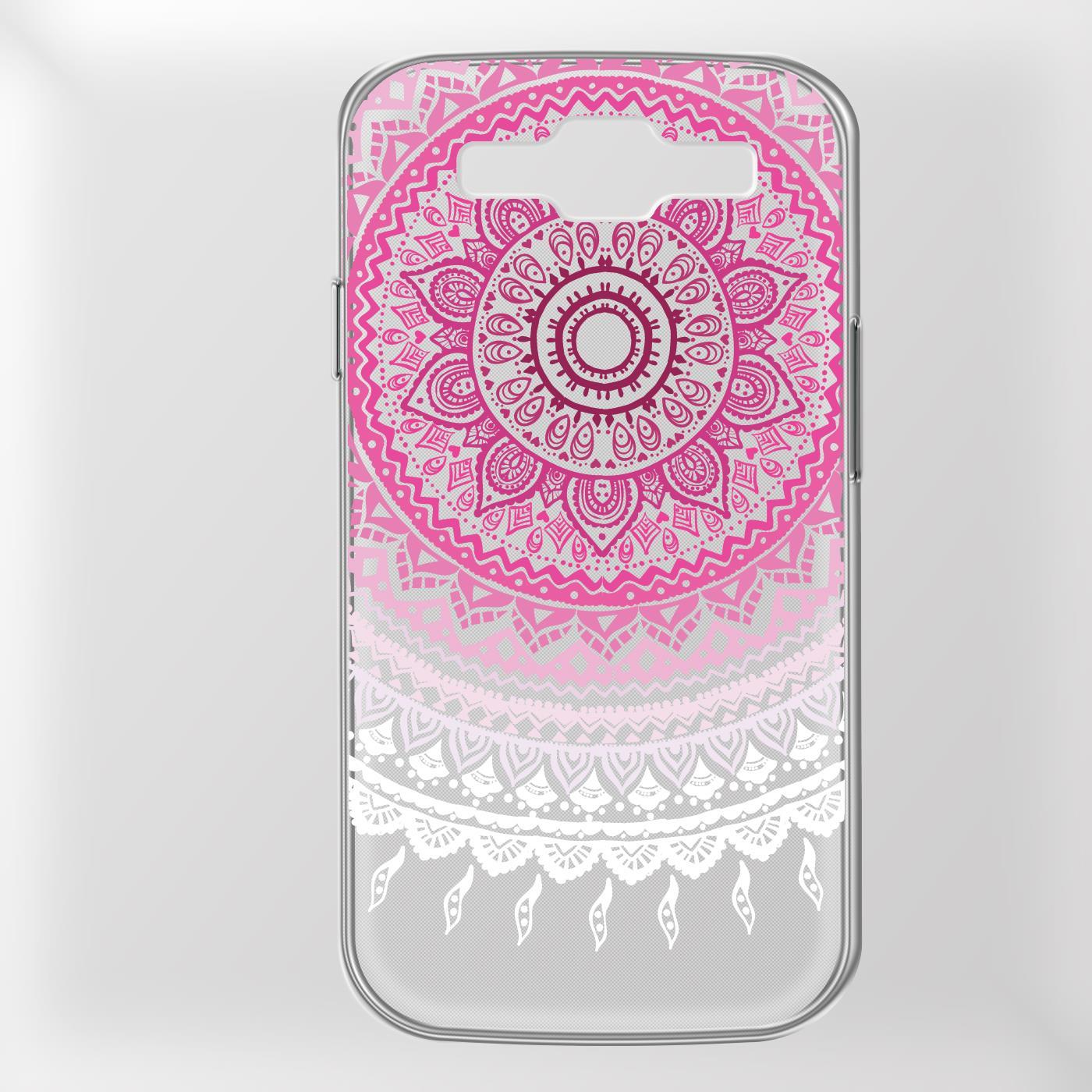 Samsung-Galaxy-S3-Neo-Handy-Schutz-Huelle-Case-TPU-Silikon-Cover-Tasche-Mandala Indexbild 22