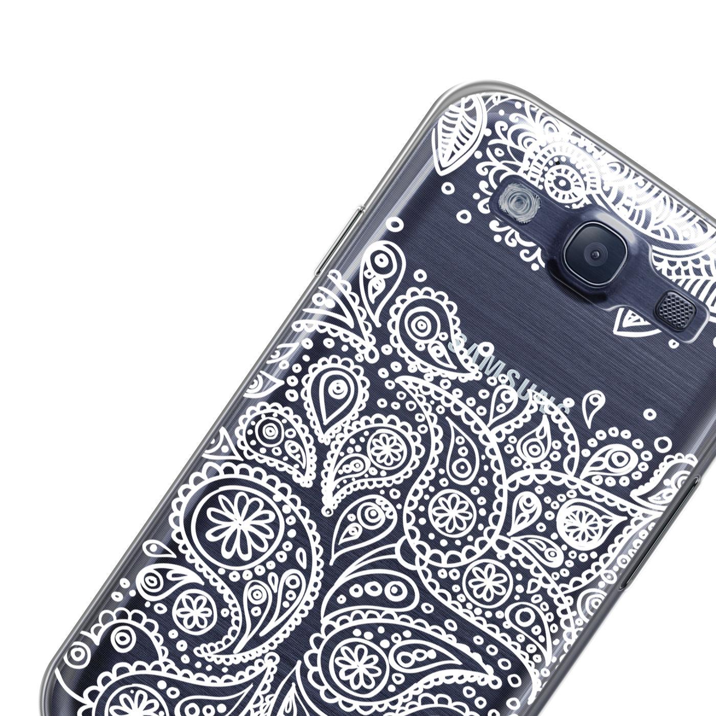 Samsung-Galaxy-S3-Neo-Handy-Schutz-Huelle-Case-TPU-Silikon-Cover-Tasche-Mandala Indexbild 24