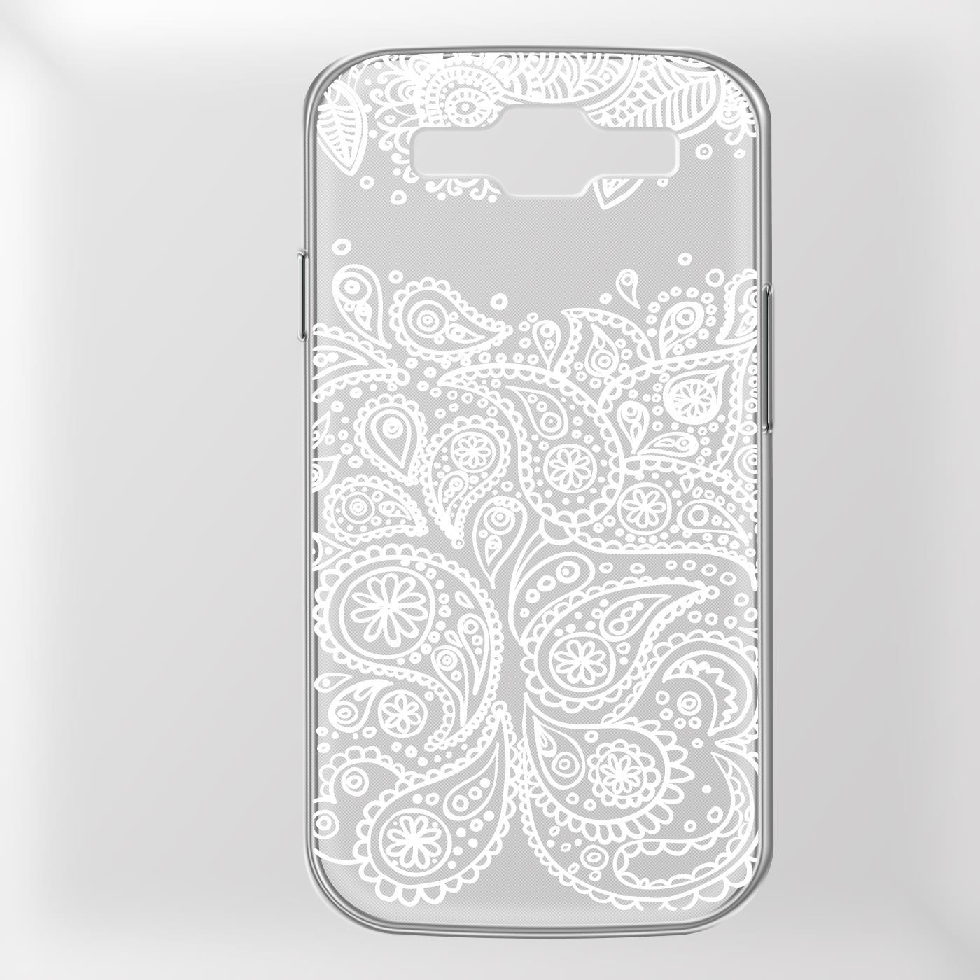 Samsung-Galaxy-S3-Neo-Handy-Schutz-Huelle-Case-TPU-Silikon-Cover-Tasche-Mandala Indexbild 25