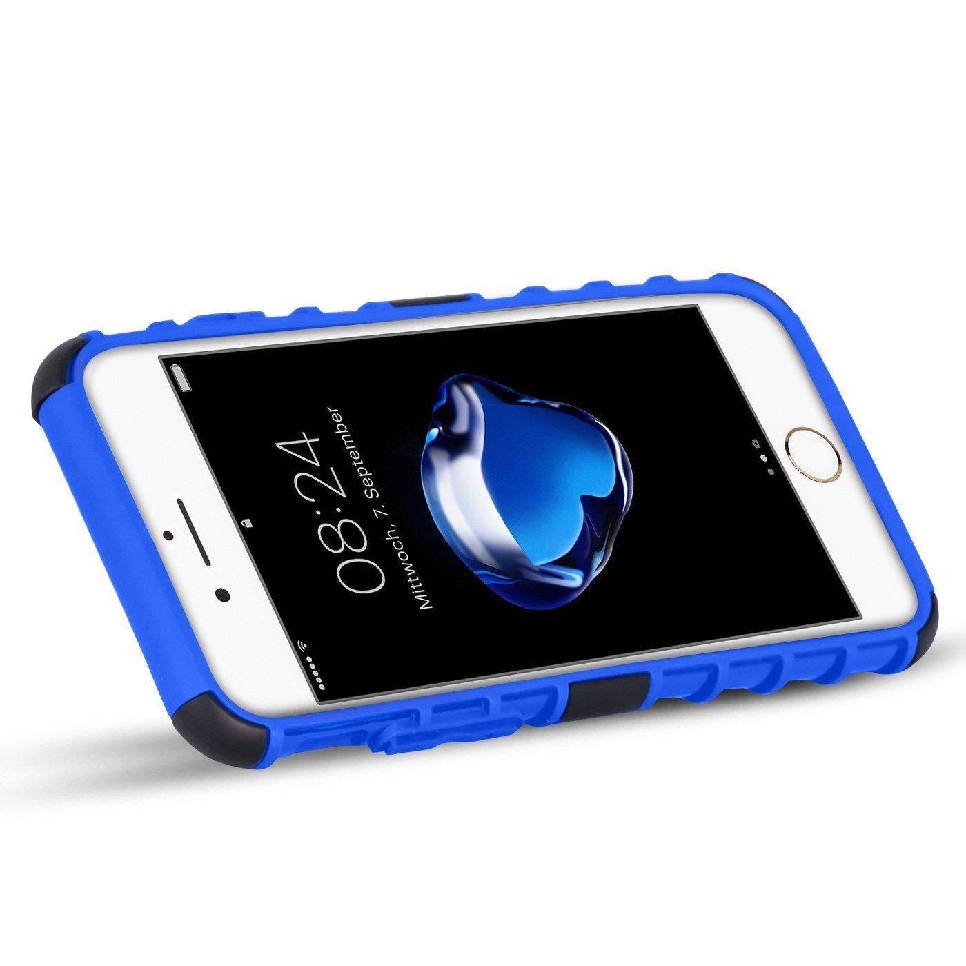 Apple-iPhone-6-S-Huelle-Hybrid-Panzer-Schutzhuelle-Handy-Schutz-Case-Cover-Tasche