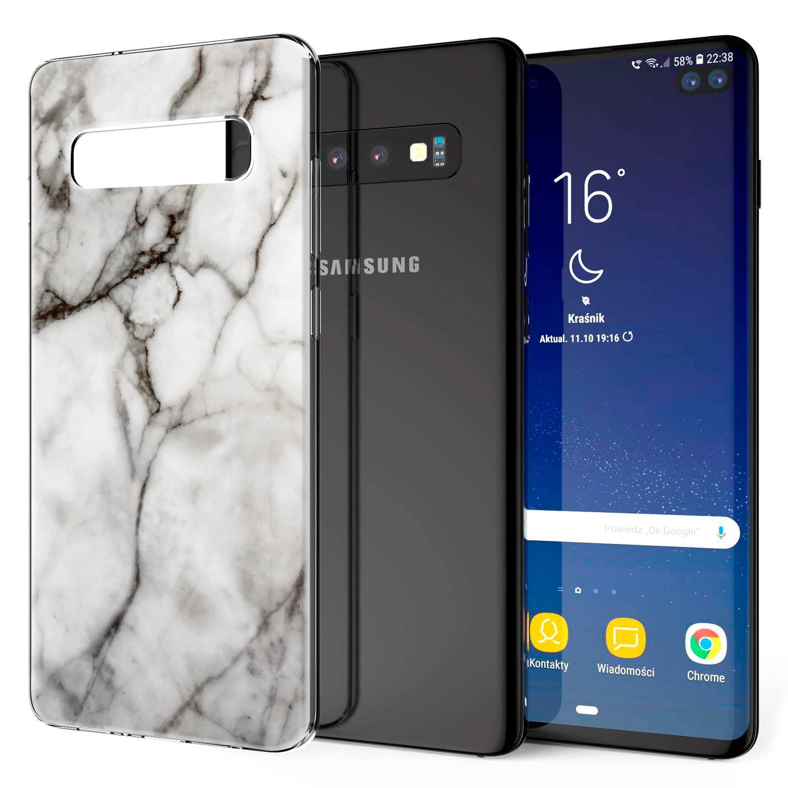 Indexbild 29 - Handy-Huelle-fuer-Samsung-Galaxy-Modelle-Motiv-Tasche-Silikon-Slim-Cover-Bumper