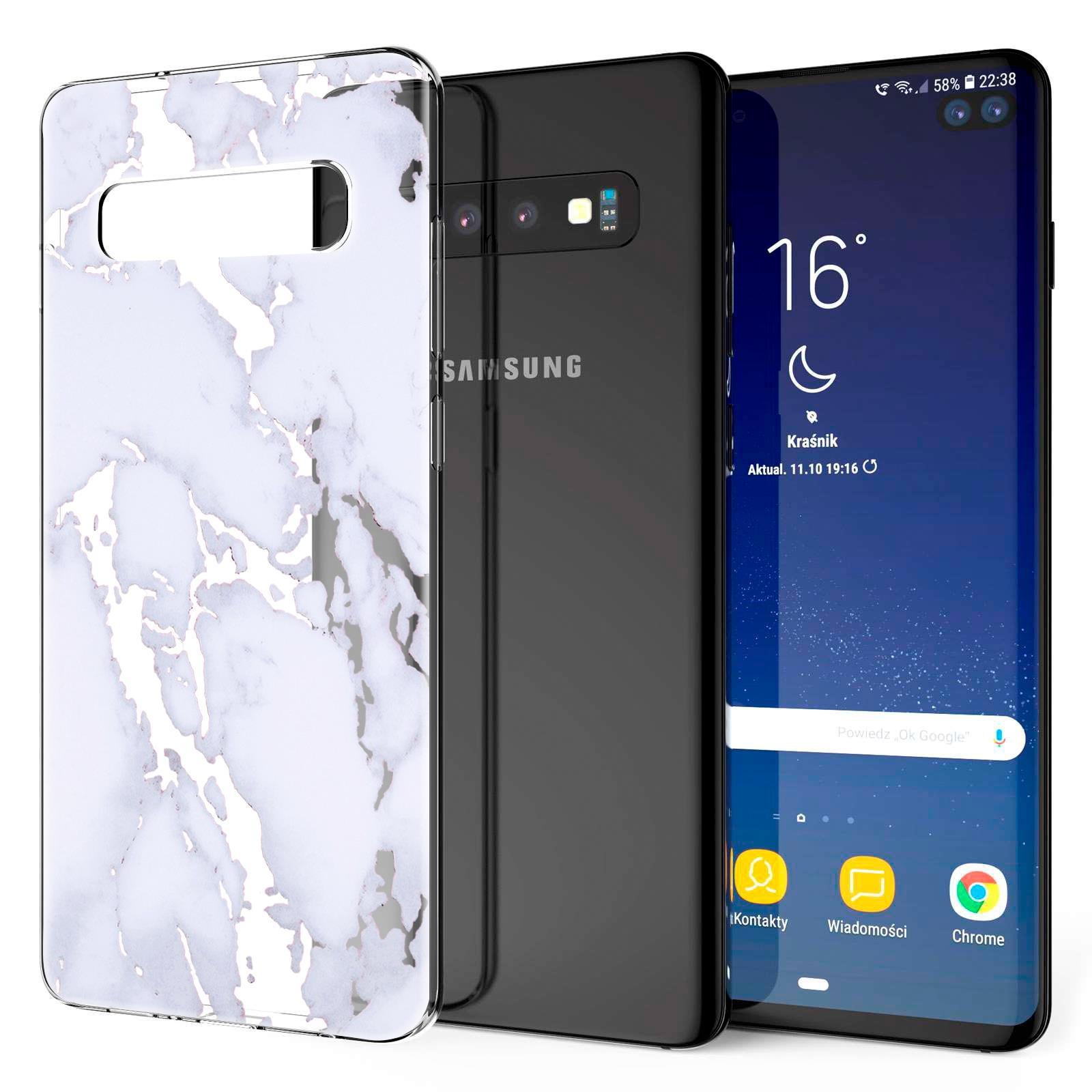 Indexbild 31 - Handy-Huelle-fuer-Samsung-Galaxy-Modelle-Motiv-Tasche-Silikon-Slim-Cover-Bumper