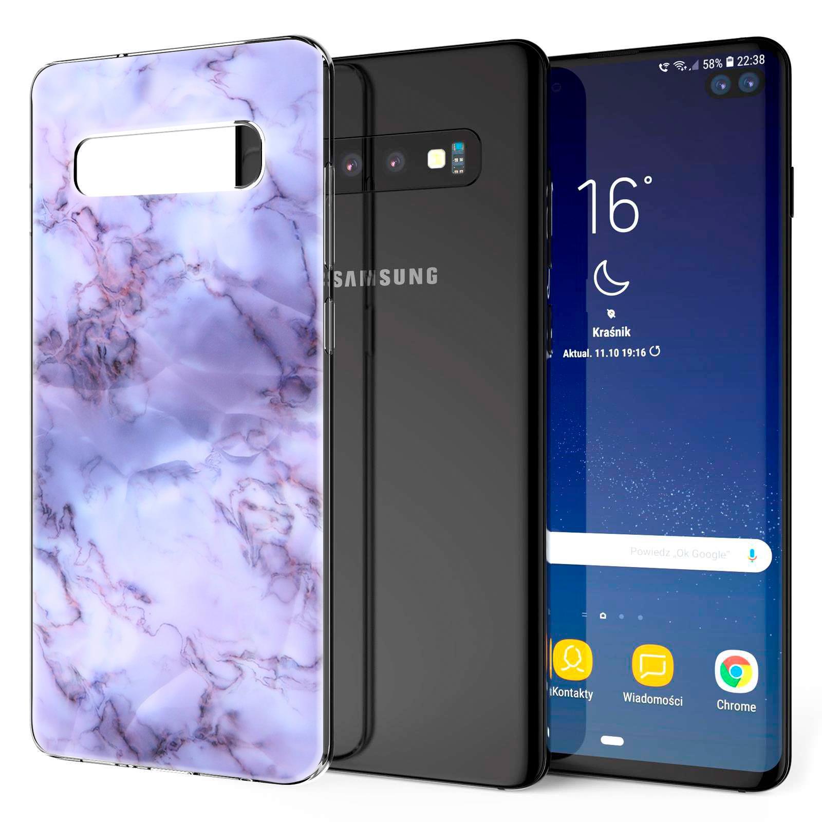 Indexbild 33 - Handy-Huelle-fuer-Samsung-Galaxy-Modelle-Motiv-Tasche-Silikon-Slim-Cover-Bumper