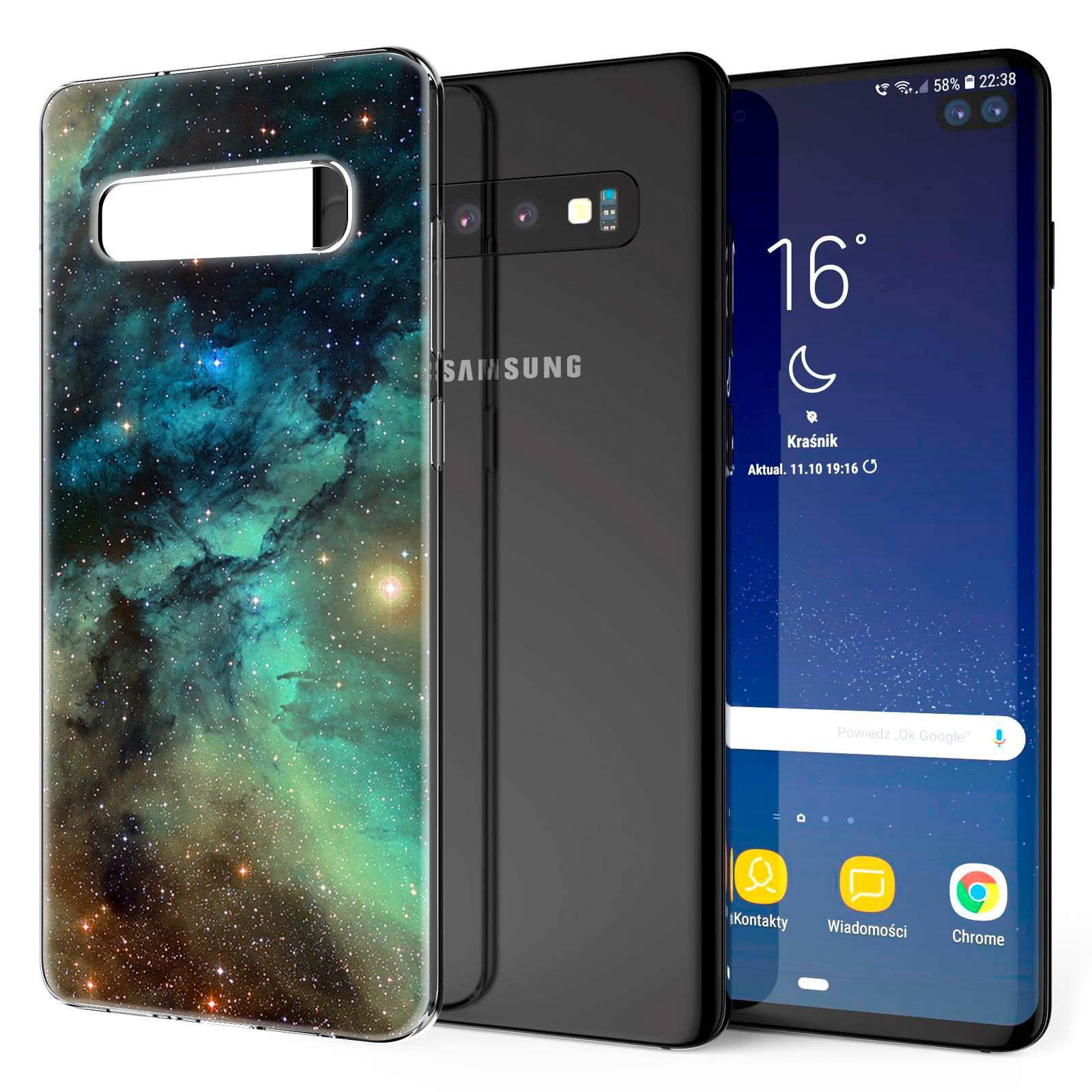 Indexbild 11 - Handy-Huelle-fuer-Samsung-Galaxy-Modelle-Motiv-Tasche-Silikon-Slim-Cover-Bumper