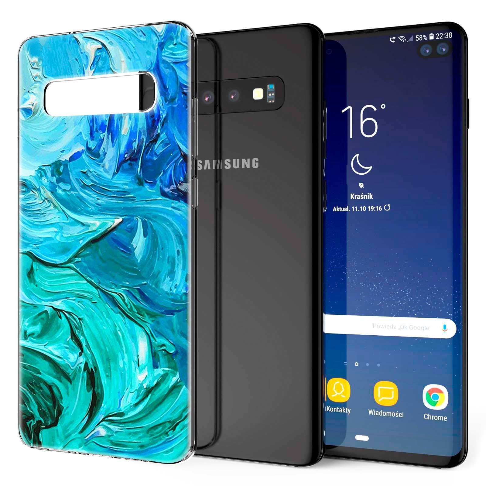 Indexbild 13 - Handy-Huelle-fuer-Samsung-Galaxy-Modelle-Motiv-Tasche-Silikon-Slim-Cover-Bumper