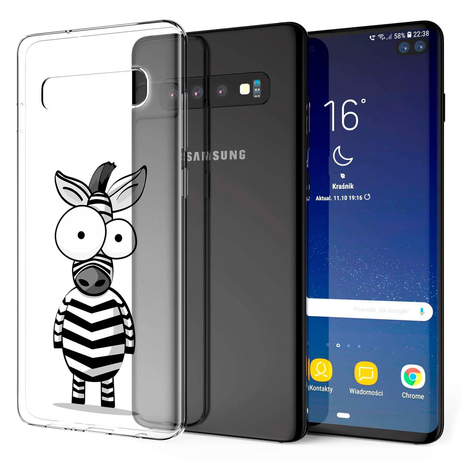 Indexbild 17 - Handy-Huelle-fuer-Samsung-Galaxy-Modelle-Motiv-Tasche-Silikon-Slim-Cover-Bumper