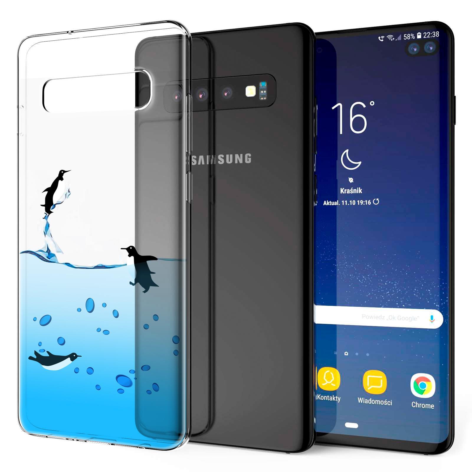 Indexbild 19 - Handy-Huelle-fuer-Samsung-Galaxy-Modelle-Motiv-Tasche-Silikon-Slim-Cover-Bumper