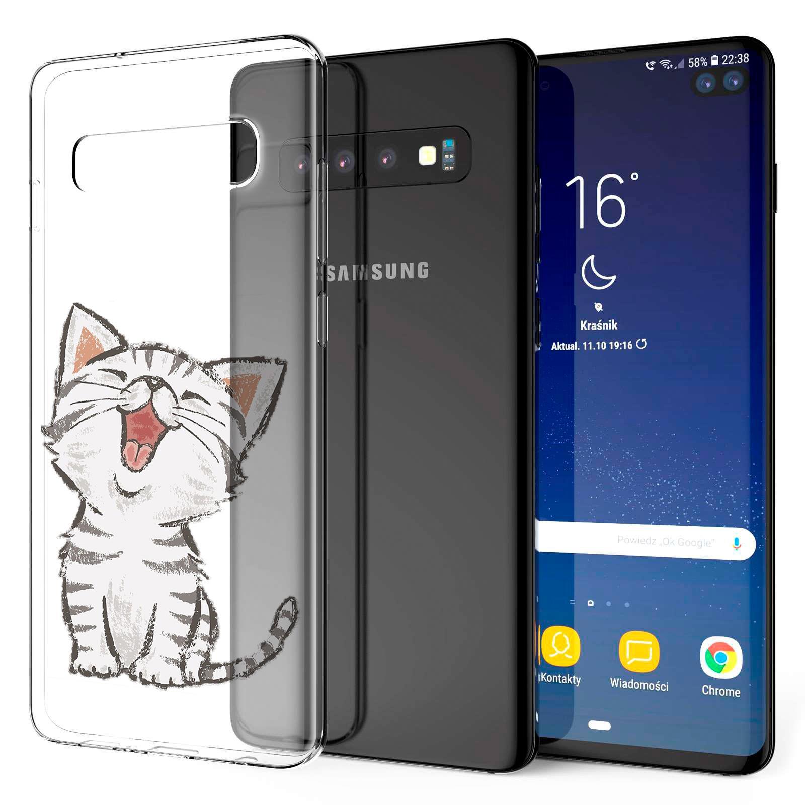 Indexbild 21 - Handy-Huelle-fuer-Samsung-Galaxy-Modelle-Motiv-Tasche-Silikon-Slim-Cover-Bumper