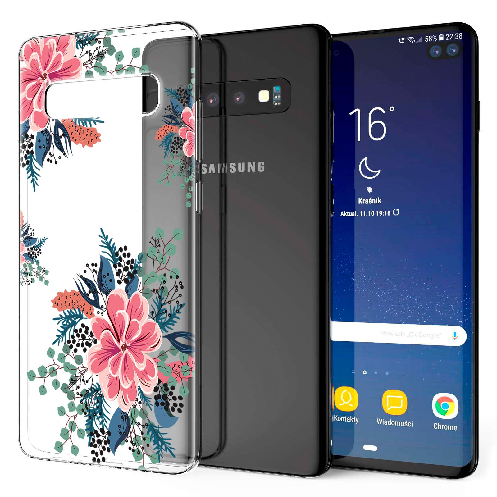 Indexbild 27 - Handy-Huelle-fuer-Samsung-Galaxy-Modelle-Motiv-Tasche-Silikon-Slim-Cover-Bumper